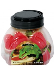 Vita Jelly Red Fruit lizzard 10pcs