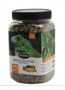 Repti Gourmet Iguana Food Fruit formula Juvenile 640ml