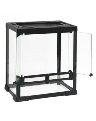 Terrarium Black Line 40x30x40(H) cm  877002 by Reptiles-planet color Non