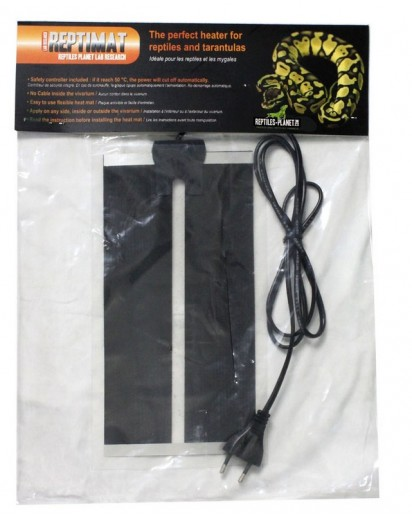 Repti Mat 7W ( 15 x 28 cm ) 870625 by Reptiles-planet color Non