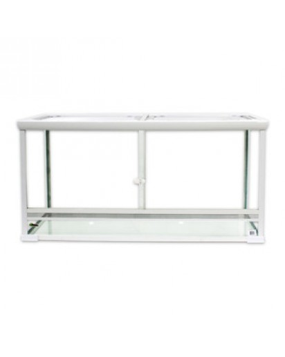 Vision White 120 - 120x50x60(H) cm 877025 by Reptiles-planet color Non