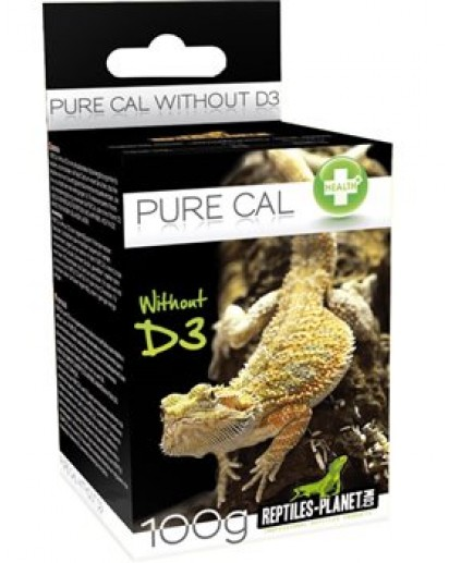 Pure cal sans D3 100g 830000 by Reptiles-planet color Non