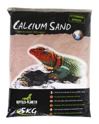 Calcium Sand Kalahari Red 2,5kg 875834 by Reptiles-planet