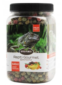 Repti Gourmet Iguana Food Fruit formula Adult  640ml